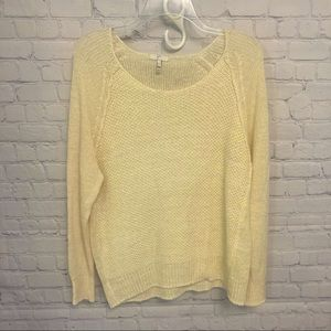 Joie Stunning oversized linen sweater size large